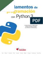 Programacion Con Python 3