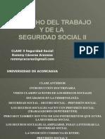 Seguridad Social Clase 3 Rommy
