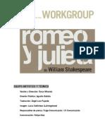DOSIIER ROMEO Y JULIETA