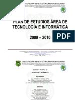 4.10 PLAN DE AREA TECNOLOGIA E INFORMATICA 2009-2010