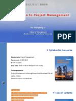 Project management -Chapter 1