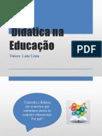 Didática na Educação