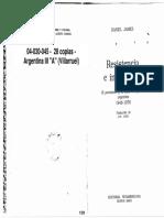 JAMES - Resistencia e integración Introducción y cáp. 1.pdf