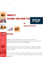 Obesity Causes & Risk Factors