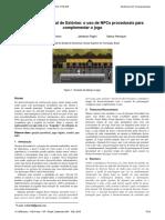Geração Procedural de Estórias O Uso de NPCs Procedurais para Complementar o Jogo