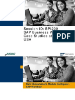 Bpi209 Sap Business Workflow Case Studies At Nestle Usa