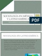 Sociología en México y Latinoamérica
