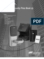 Schlage Electronic Security Price Book 2011