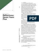 Renée Green Reflections