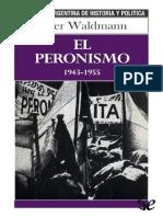 WALDMANN Peter El peronismo 1943-1955