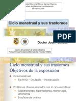 3.-Ciclo menstrual y trastornos
