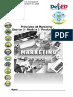 December 2020 Module SHS Principles of Marketing 12