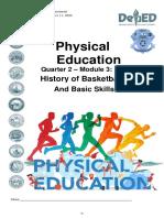 December 2020 Module Physical Education 8