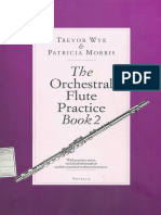 Trevor Wye The Orchestral Flute Practice Book Part 2
