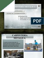 CARPINTERÍA METÁLICA fff