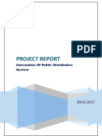 Project Report(E Rationing)