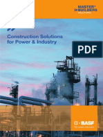 BASF builders solutions global power and industry brochure
