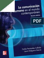 La comunicación humana en el mundo contemporáneo, 3ra Edición - Carlos Fernández Collado