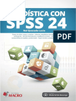 Estadística con SPSS 24