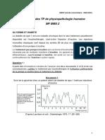 Evaluation Physiopath Humaine 2020-2021