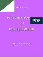 Kopp, Hans - Die Philosophin und der Feldherr, 1. Auflage