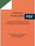Köpke, Matthias - Geheime Weltmächte, 2. Auflage