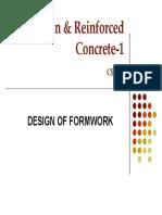 Prof[1]. Zahid Ahmad Siddiqi Formwork Design-III