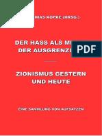 Köpke, Matthias - Der Hass als Mittel der Ausgrenzung, 1. Auflage