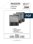 Mitsubishi VS-60705 Service Manual