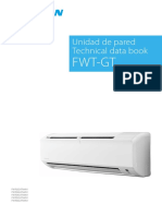 Unidad de pared Technical data book FWT-GT