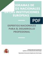 INFORMACIÓN EXPERTOS NACIONALES PARA EL DESARROLLO PROFESIONAL