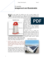 Resource Management and Sustainable Production