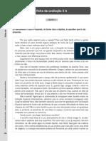 Ficha de Avaliação 5 - Santillana 5