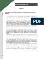 Ficha de Avaliação 6 - Santillana 5