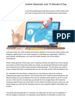 How To Content Generator Business Using Your Childhood Memorieswosnr.pdf