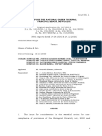 National Green Tribunal on Biological Diversity Act, 2002
