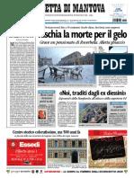 La Gazzetta Mantova 20 Dicembre 2009