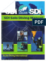 SDI Solo Diver Manual