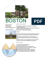 Boston Summer Camps Information