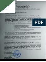 Le procès de 32 militants du MRC s'ouvre le 4 janvier devant le Tribunal Militaire de Yaoundé