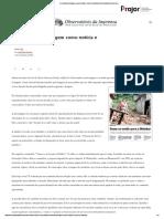A semiótica da imagem como notícia e como mercadoria