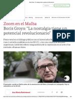 Boris Groys_ _La nostalgia tiene un potencial revolucionario_2020-12-23-