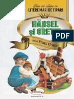 Hansel Si Gretel - Stiu Sa Citesc Cu Litere Mari De Tipar