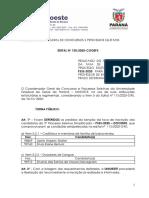 Edital nº 150-2020-COGEPS - Resultado dos Pedidos de Isenção de Taxa de Inscrição