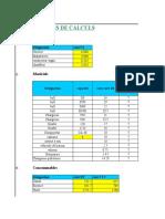calcul de prix Entreprise