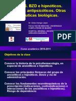 BZD e hipn__ticos. F__rmacos antipsic__ticos. Otras terap__uticas biol__gicas