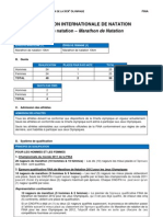 Olympic 10K Marathon Swim - 2012 London Olympics Qualifications (French)