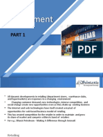 Part 1 Retailing and Retail Management