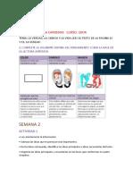 ACTIVIDAD SEMANA 1,2.3.4 PROYECTO 2 MICAELA CARDENAS