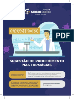Cartilha de Sugestões Coronavírus